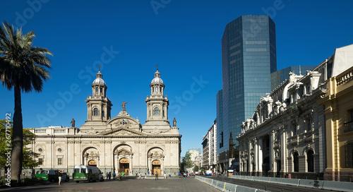 Cadres-photo bureau Amérique du Sud Plaza de Armas square, Santiago, Chile
