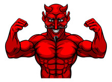 A Devil Satan Or Lucifer Stron...