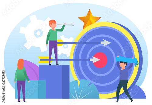 Photo  Aim for goal, target, dream