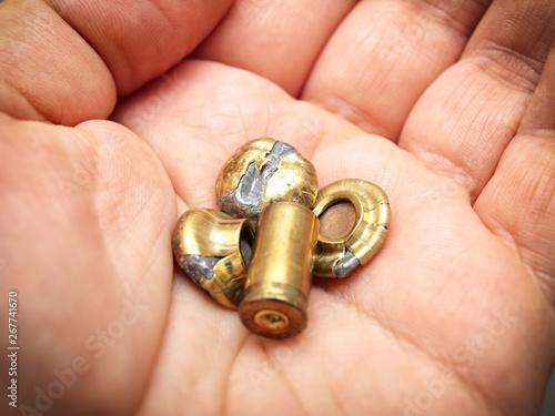 Carta da parati Fired ammo