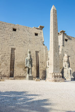 Ramesses II And The Oblisk In ...