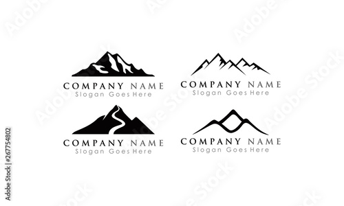 set logo mountain