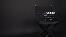 Clapperboard Or Movie Slate Wi...