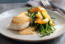 Sea Bass Fillet With Parsnip C...