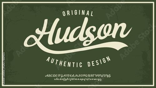 Canvastavla Hudsone
