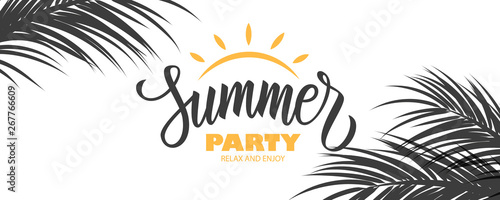 Fotografie, Obraz  Summer Party banner