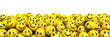 canvas print picture - Many laughing smileys