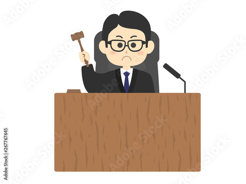 Fototapeta 裁判官