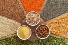 Colorful Grains And Seeds - Healthy Choice Variety Staple Food