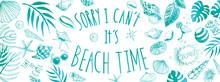 Beach Time Banner
