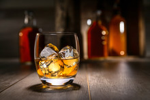 Close Up Of Single Malt Scotch...