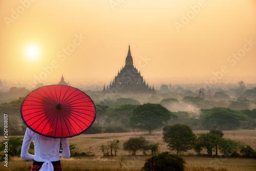 Photo Tourism industry in Bagan Mandalay Myanmar