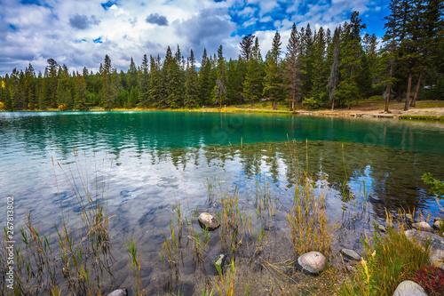 Rocky Mountains, Jasper National Park Canvas