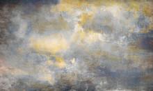 Malerei Himmel Leinwand Sepia ...