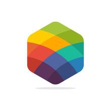 Colorful Hexagon Shape Designs