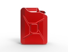 3D Rendering Of A Red Jerry Ca...