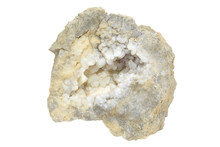 Vug Of The Calcite In The Lime...