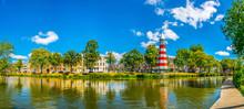 Lighthouse At The Valkenberg Park At Breda, Netherlands