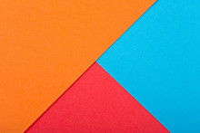 Colored Paper Texture. Geometr...