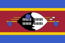 Vector Flag Of Eswatini. Propo...
