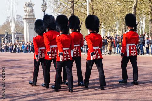 Fotomural Cambio guardia real en Londres