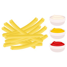 French Fries With Ketchup, May...