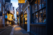 Medieval Street Of Shambles In...
