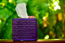 Beautiful Tissue Box With Nature