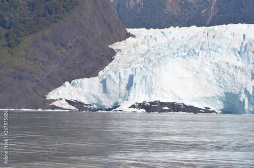 Autocollant pour porte Arctique lago argentino