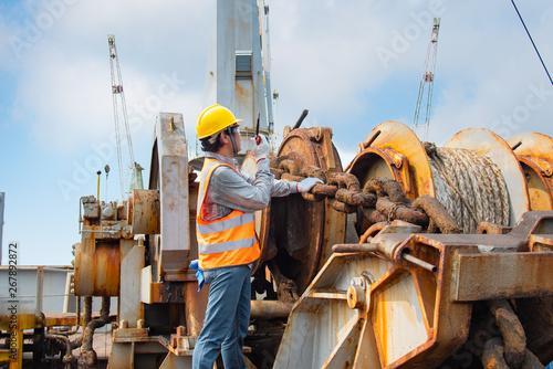 engineering or worker, motor man, loading master or
