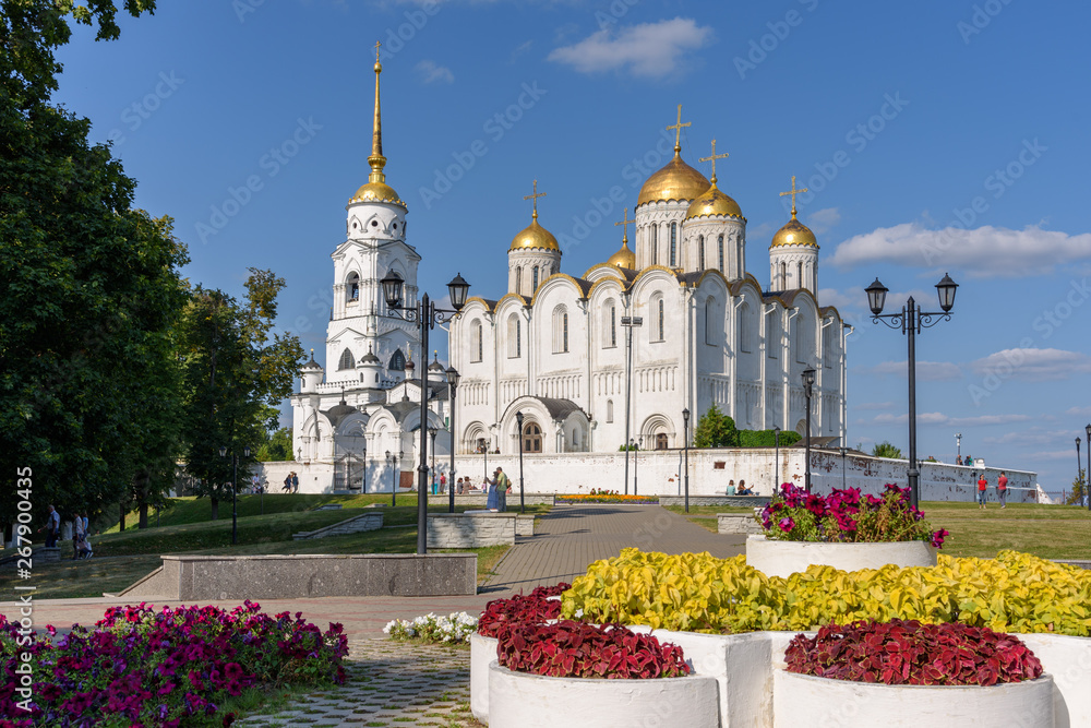 Fototapety, obrazy: Assumption Cathedral in Vladimir city - Russia.
