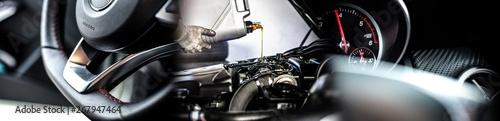 Photo  Steering Wheel / Engine Oil / Rev Counter