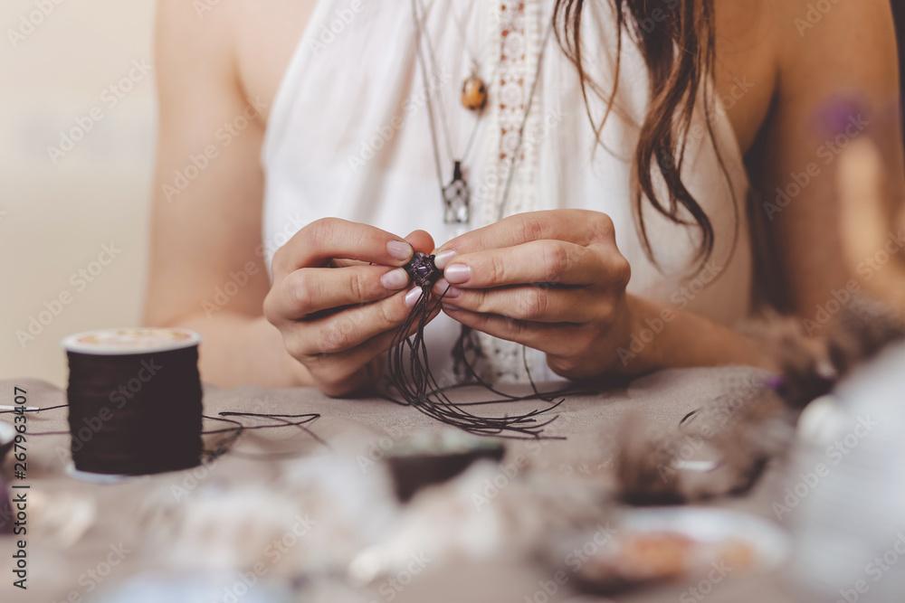 Fototapety, obrazy: Handmade gemstone jewelry
