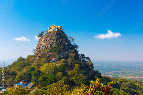 Temple near Mt. Popa