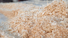 Mountains Of Wood Shavings Clo...
