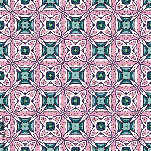 La pose en embrasure Tuiles Marocaines Mosaic islamic seamless pattern texture. Decorative pattern ornamental multicolor.