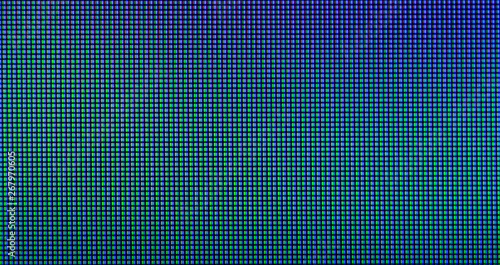Photo  Extreme closeup of LED IPS panel pixels