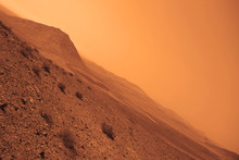 View Of The Red Terrestrial Pl...