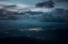 Alma City At Night