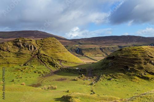 Keuken foto achterwand Rijstvelden Fairy Glen at Isle of Skye