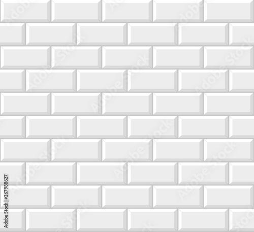 Obrazy białe  biale-plytki-metra-tlo-wzor-wektor