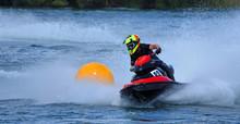 Jet Ski Competitor Cornering ...