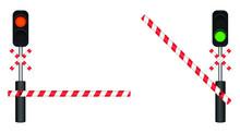 Train Barrier Vector Design Il...