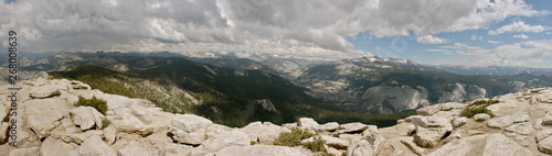 Clouds Rest Hike in Yosemite National Park in California Slika na platnu