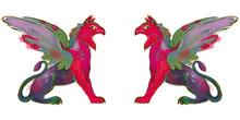 Mythological Creature. Illustr...