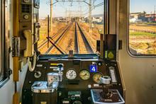 Empty Old Train Cabin, Osaka, ...