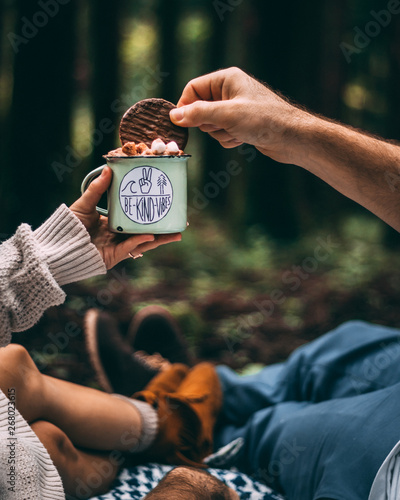 person holding chocolates