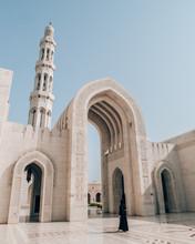 White Concrete Arch