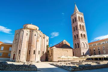 Crkva Svetog Donata i Rimski forum u Zadru (Hrvatska)
