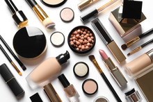 Set Of Luxury Makeup Products ...